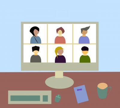 Virtual meeting image